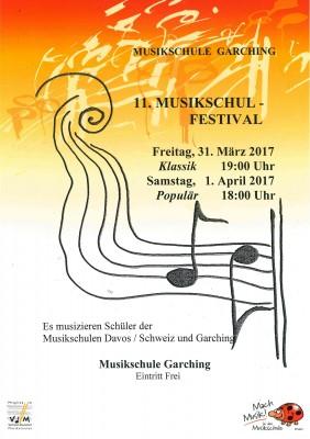 11. Musikschul-Festival Konzert Klassik @ Musikschule Garching
